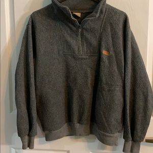 Men's Fleece pullover jacket